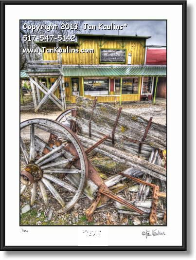 Click on this image to see an enlarged view of IRISH HILLS MI Stagecoach Stop photo art print.