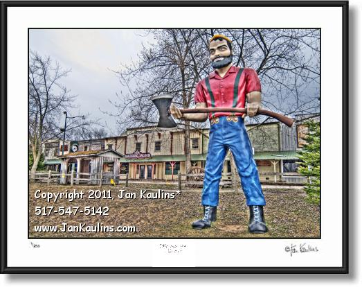 Click on this image to see an enlarged view of STAGECOACH STOP IRISH HILLS MI photo print .