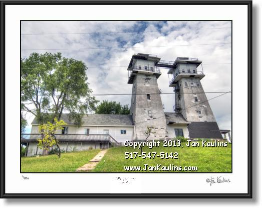 Click on this image to see an enlarged view of IRISH HILLS TOWERS NORTH photo art print.