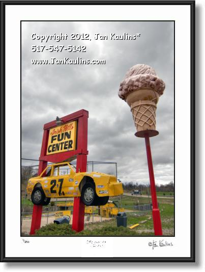 Click on this image to see an enlarged view of IRISH HILLS MI Bears Lair Fun Center photo print.
