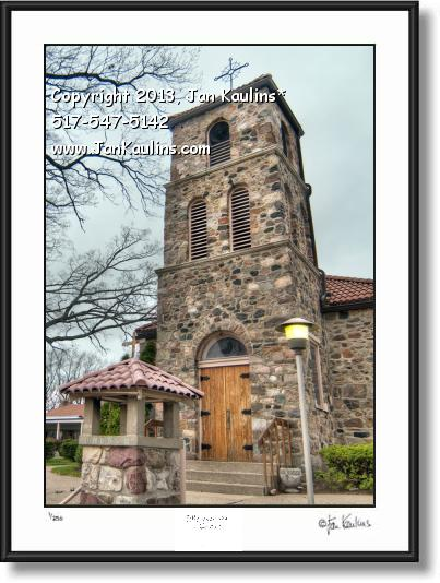 Click on this image to see an enlarged view of ST. JOSEPH CHURCH SHRINE Irish Hills MI photo.